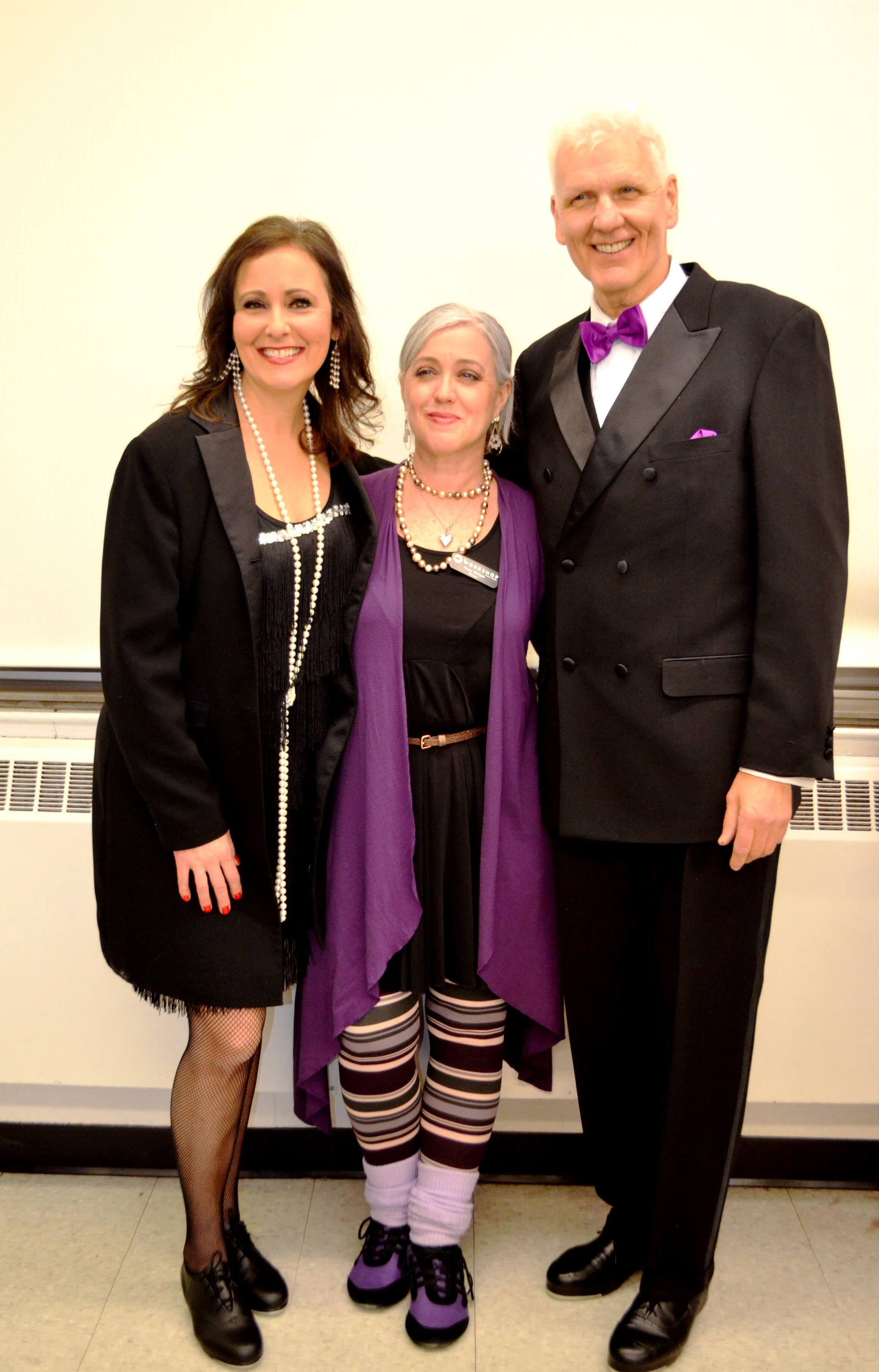 Dance Team Choreographer Diana Fisher, Nancy Morgan, Robert Noseworthy