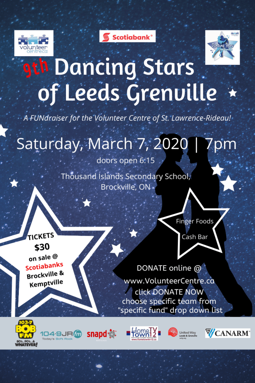 9th Annual Dancing Stars of Leeds Grenville